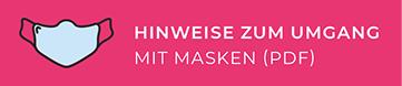 Hinweise zum Umgang mit Masken